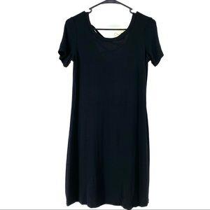 Olivia Rae Women's Criss Cross Back Shirt Dress S